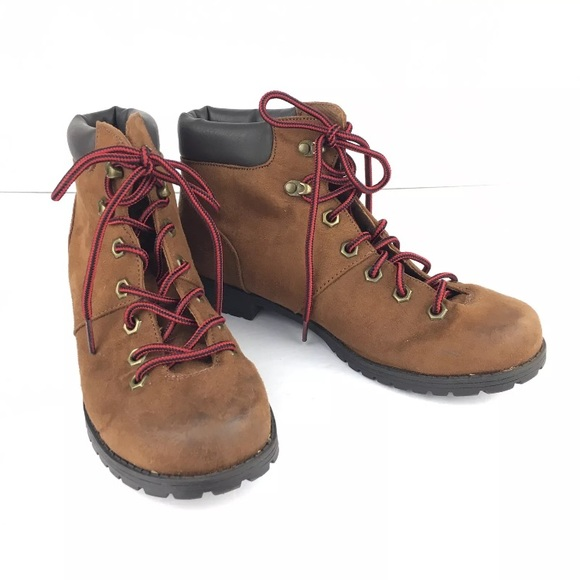 4aec377ec887 American Eagle By Payless Shoes - American Eagle Hiking Boots Women Sz 8  Brown Red